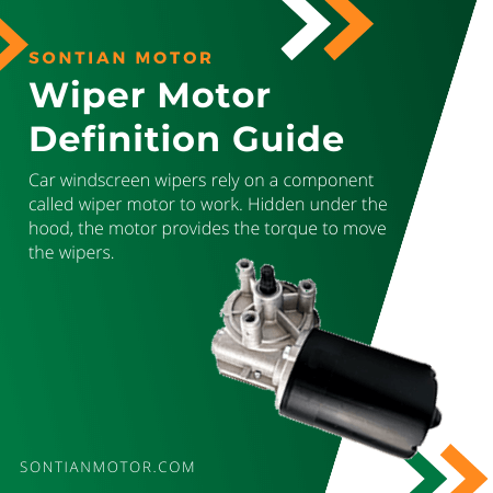 Wiper Motor Product Banner