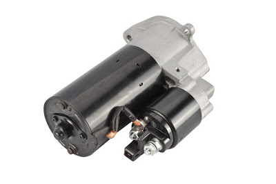typical electric starter motor