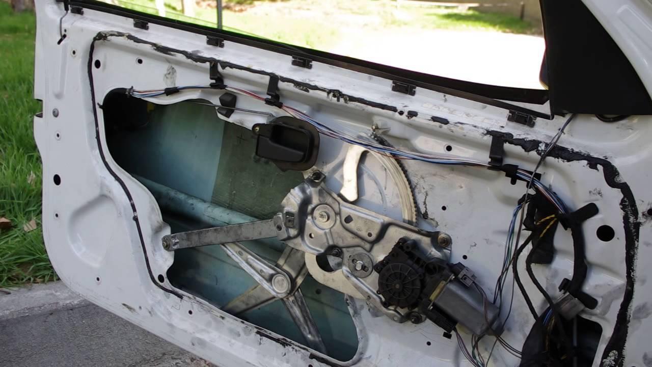 worn window regulator