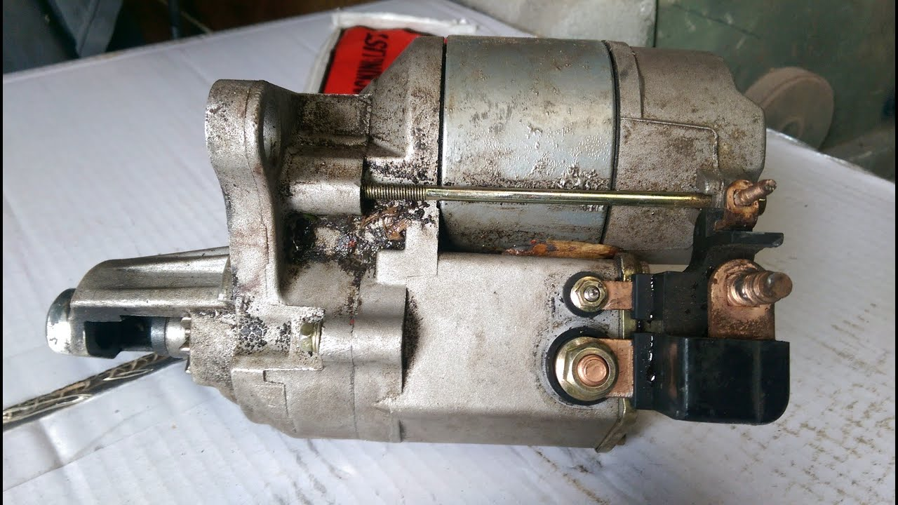 gear reduction starter type