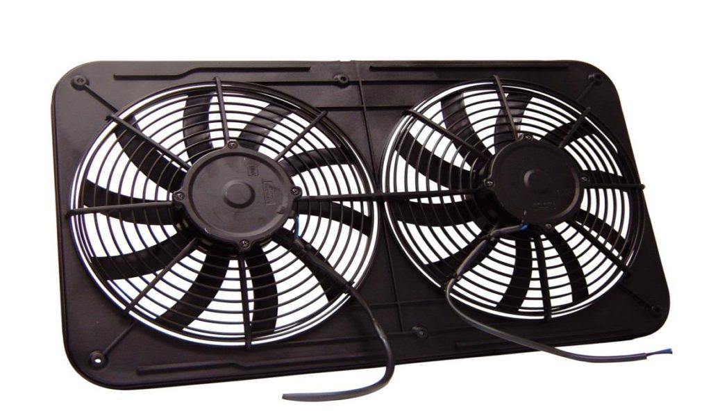 radiator cooling fans come in different configurations