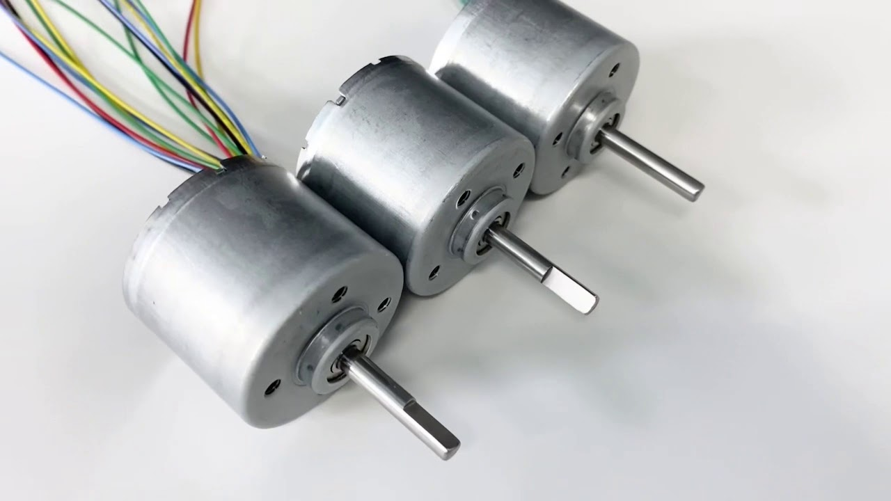 different types of brushless DC motors suit different uses