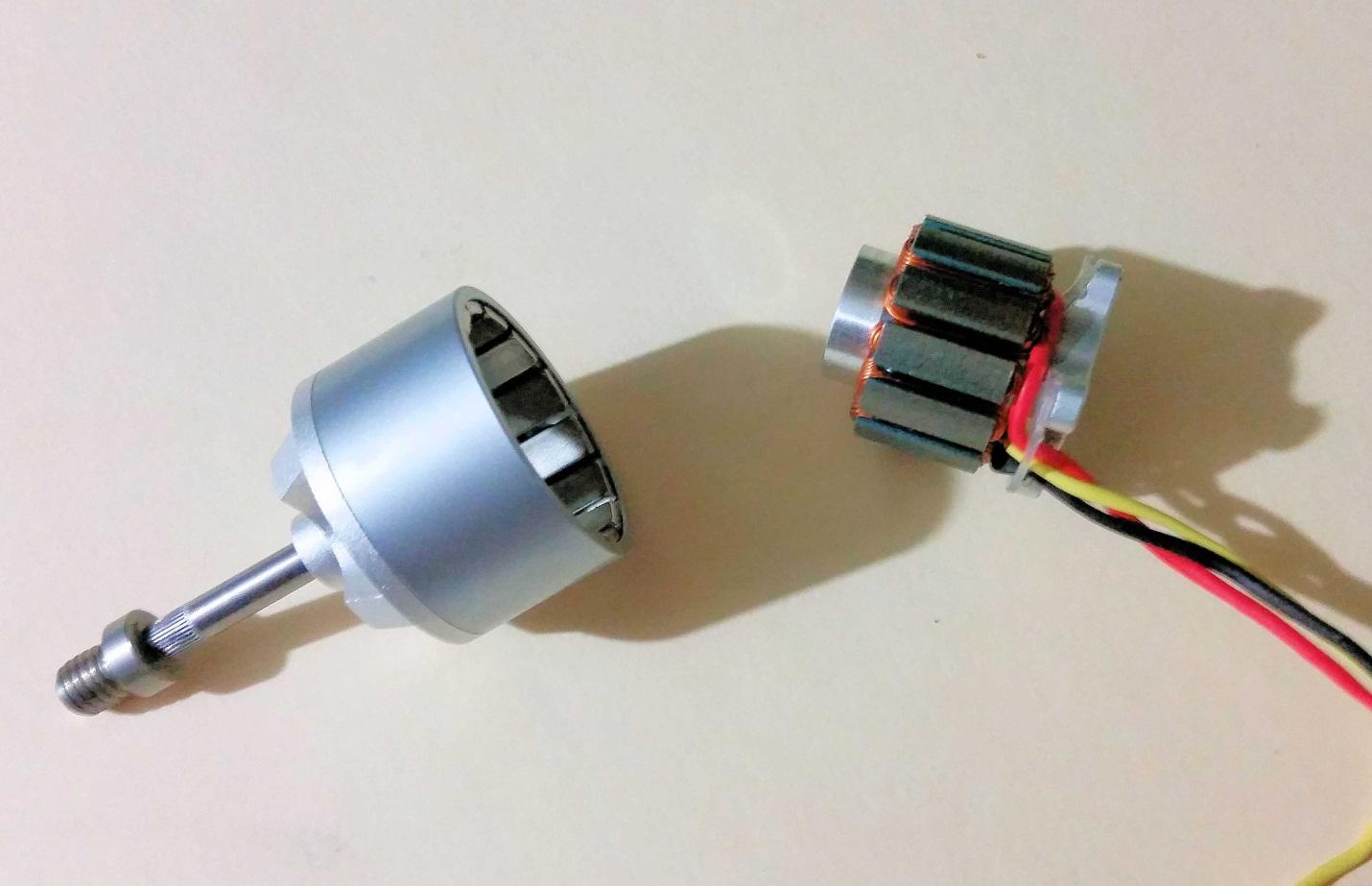 multi-pole bldc motor