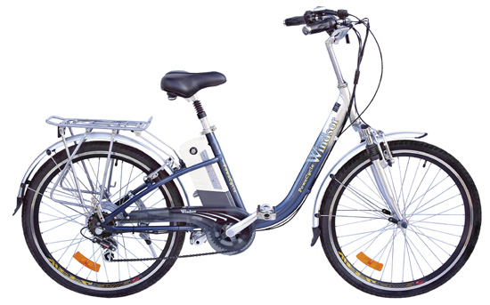 an e-bike that uses BLDC motor
