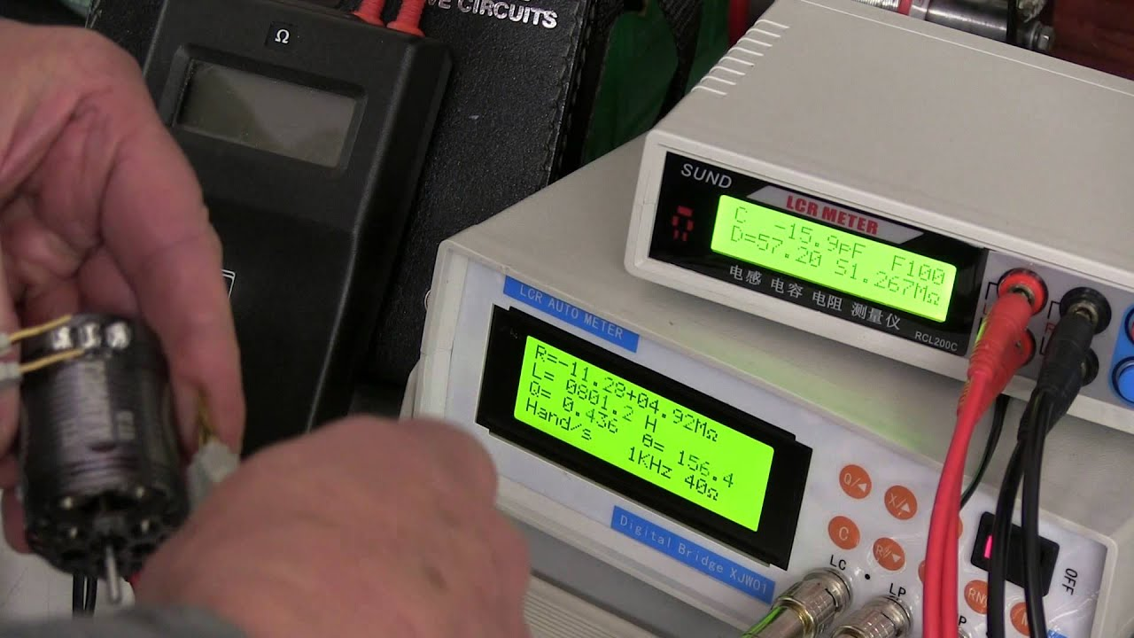 measuring a brushless DC motor specifications