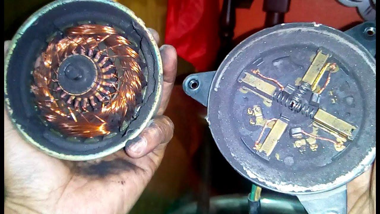 radiator fan motor repair